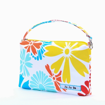 Be Quick Clutch Diaper Bag in Flower Power
