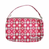 Be Quick Clutch Diaper Bag in Pink Pinwheels