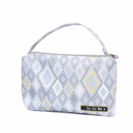 Be Quick Clutch Diaper Bag in Silver Ice