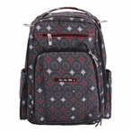 Be Right Back Diaper Bag in Magic Merlot