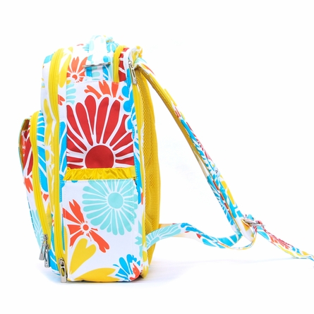 Be Right Back Diaper Bag in Flower Power