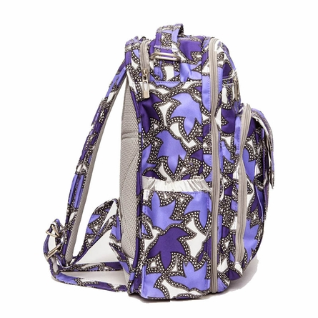 Be Right Back Diaper Bag in Lilac Lace