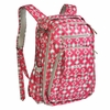 Be Right Back Diaper Bag in Pink Pinwheels