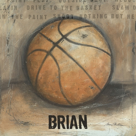 Be the Ball Basketball Canvas Wall Art