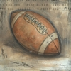 Be the Ball Football Canvas Wall Art