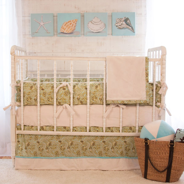 Our nursery bedding sets come with a fitted sheet, quilt, crib skirt and bumper so that you can select a package that suits your needs. We even make it easy for you to protect the world your baby will grow to love with our organic nursery bedding that is also ideal .