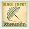 Beach Front Property Framed Wall Art