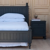 Beadboard Bed with Decorative Feet