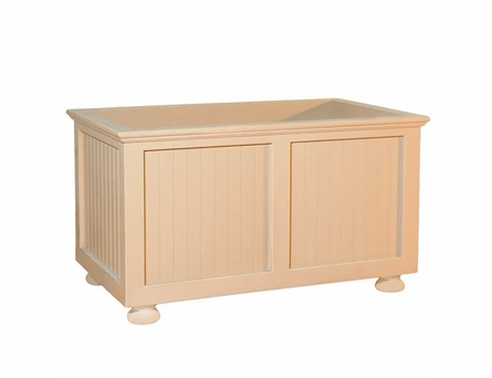 Beadboard Open Toy Chest