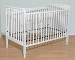 Beadboard Spindle Crib