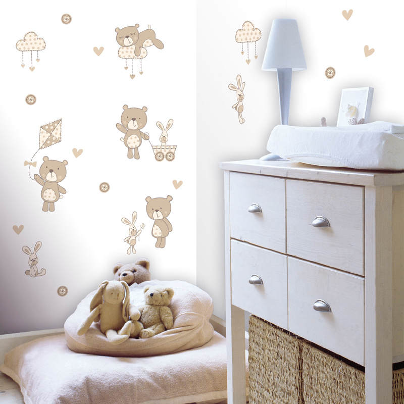bear and boo neutral wall decals rosenberryrooms com polar bears wall sticker decals for kids