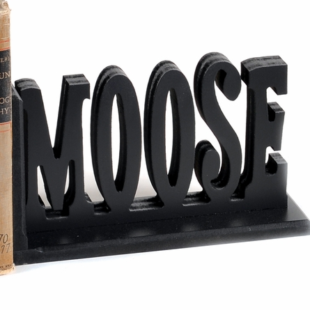 Bear and Moose Letter Bookends