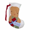 Bear Boy Personalized Christmas Stocking