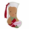 Bear Girl Personalized Christmas Stocking