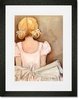 Beautiful Ballerina - Blonde Framed Art Print