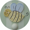 Bee Wall Peg - Set of Two