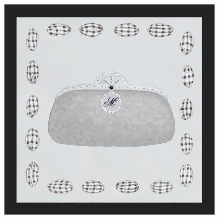 Bejeweled Minaudiere Canvas Reproduction