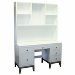 Bel Air Desk with Milano Knobs