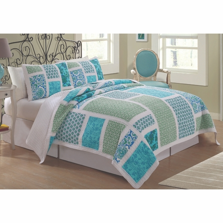 Belfast Quilt with Pillow Sham