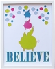 Believe Piggy Art Print