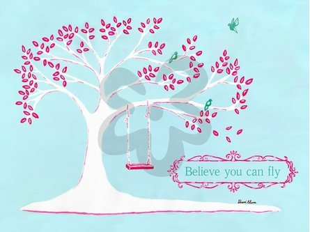 Believe You Can Fly Canvas Wall Art