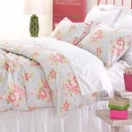 Bella Blue Duvet Cover