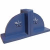 Bella Blue Star Bookends