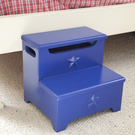 Bella Blue Star Storage Step Stool