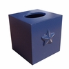 Bella Blue Star Tissue Box