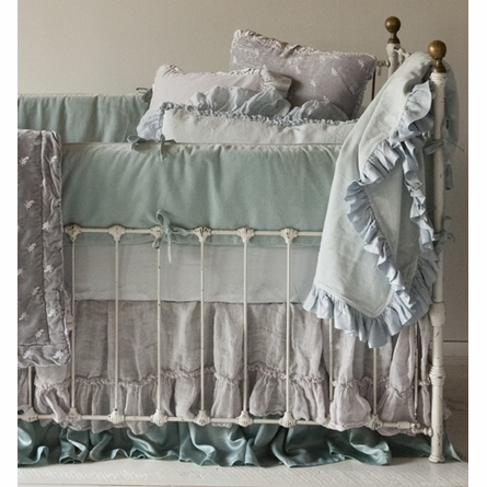 Bella Cotton Poplin Crib Sheet