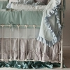 Bella Cotton Sateen Crib Sheet - White