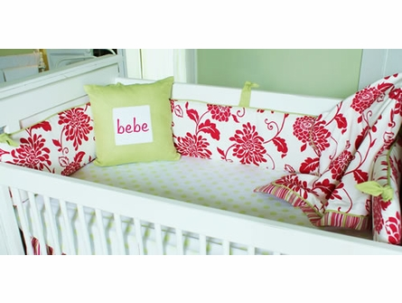 Bella Crib Bedding - 3 Piece Set