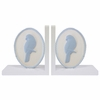 Bella Deluxe Songbird Two-Tone Bookends