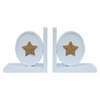 Bella Deluxe Star Two-Tone Bookends