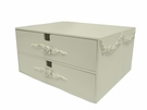 Bella Double Drawer Jewelry Box
