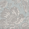 Bella Floral - Aqua Fabric by the Yard