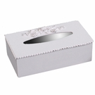 Bella Keyhole Rectangular Tissue Box