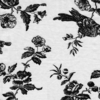 Bella Notte Linens Fabric by the Yard - Bird Toile White