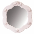 Bella Scalloped Round Mirror