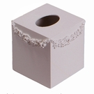 Bella Square Swag Tissue Box