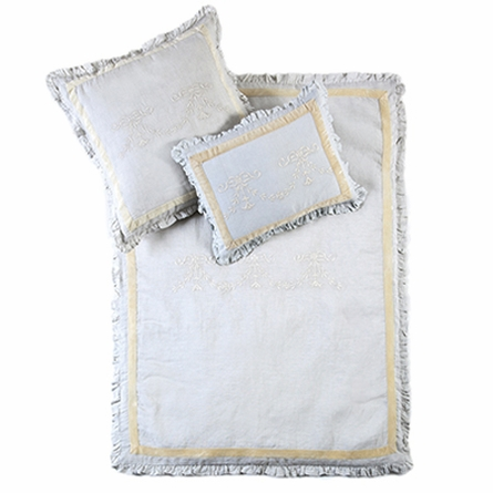 Belle Embroidered Crib Duvet