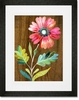 Belle Flower Framed Art Print