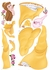 Belle Giant Peel & Stick Wall Decal