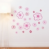 Belle in Bubblegum Wall Decal
