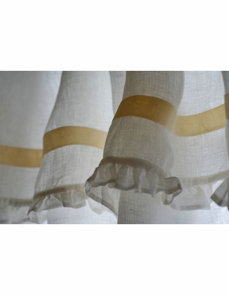 Belle Tie Top Curtain Panel