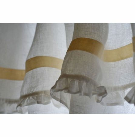 Belle Tie Top Window Curtain
