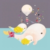Beluga Gumballs Canvas Wall Art