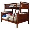Bennington Twin over Full Bunk Bed in Cherry