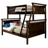 Bennington Twin over Full Bunk Bed in Espresso