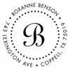Benson Personalized Self-Inking Stamp